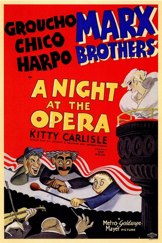 a night at the opera 1935 - Google Search