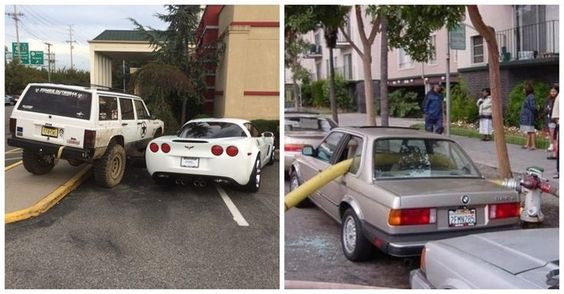 There are those of us who will not stand aside while a parking crime is being committed. Instead, these select few get their revenge in the most creative of ways. A word of caution: revenge is not always PG rated.