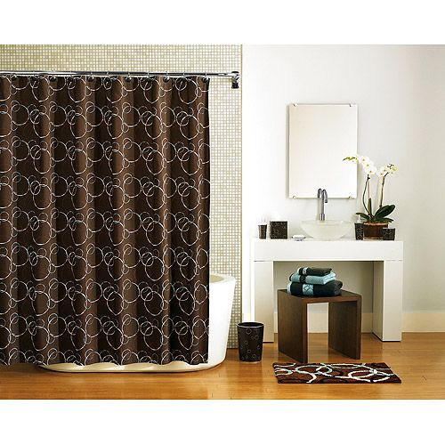 $16.67 Hometrends Elipse Shower Curtain