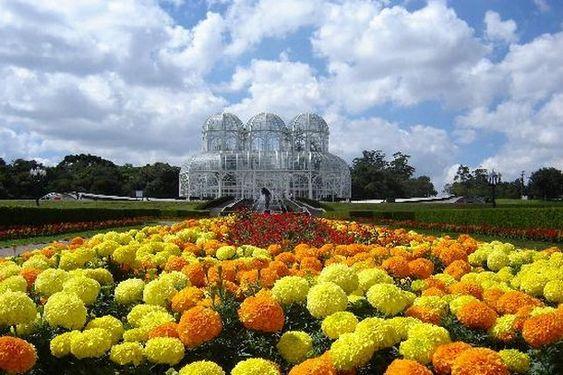 Jardim Botânico de Curitiba in Curitiba, Parana, Brazil