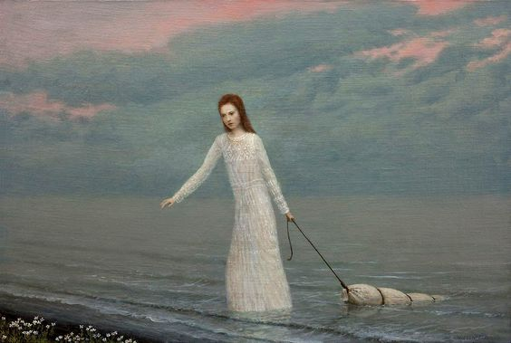 The Lake | Aron Wiesenfeld (suggestivism)