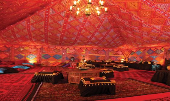 Arabian style party decorations pinterest marquee for Arabian tent decoration