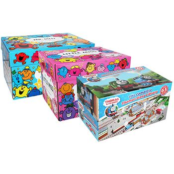 Mr Men - Little Miss and Thomas and Friends Classics Book Box Set Collections // SAVE £395 (Only £100 at The Works)