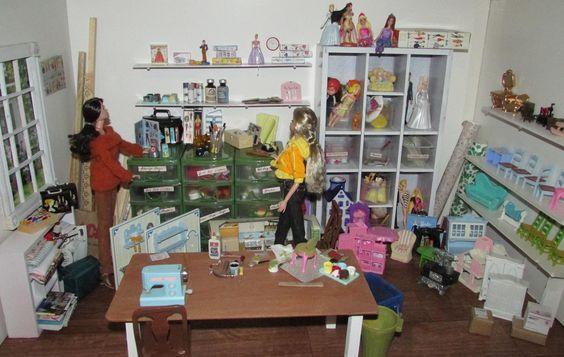 Omg, dolls are making dolls! So cute it's creepy!