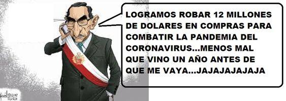 EN PERU, SE USA EL CORONAVIRUS PARA ROBAR LAS ARCAS DEL ESTADO-EL GOBIERNO DE MARTIN VIZCARRA USA LA PANDEMIA-PARA HACER CONTRATOS MILLONARIOS CON CANALES DE TV-PARA QUE LO SECUNDEN, EN SU FARSA EN BIEN DE LA POBLACION-ROBOS TODOS LOS DIAS-POBLACION HAMBRIENTA, SIN PODER TRABAJAR-PORQUE LA SALUD ES PRIMERO-LO MAS IMPORTANTE-¿Y LA SALUD MENTAL, COMO QUEDARA, LUEGO DE QUE MILLONES PIERDAN EL EMPLEO, ESTE EN BANCARROTA,CON DEUDAS,,VIVIENDO EN LAS CALLES?PERU-UN PAIS AUTORITARIO-TROGLODITA-