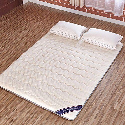Hxxxy Padded Memory Cotton Mattress Tatami Floor Mat Mattress Hats Queen King Dorm Japanese Style A 90x200cm 35x79inch Mattress