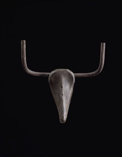 Pablo Picasso, Bull's Head (saddle and handlebars of a bicycle), 1942, Iron and leather, Museum Picasso, Paris
