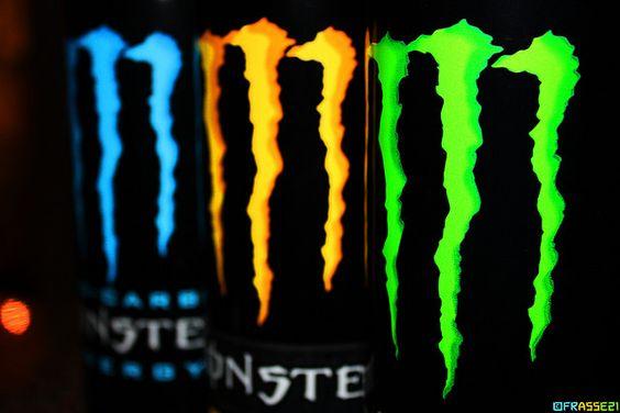 Monster Energy Drink!  I prefer Blue!