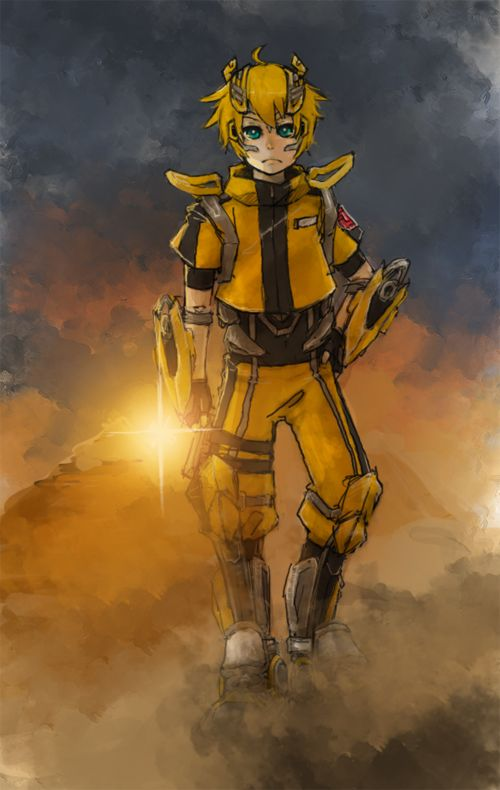 Human mode Bumblebee. by 90ryuya.deviantart.com on @deviantART