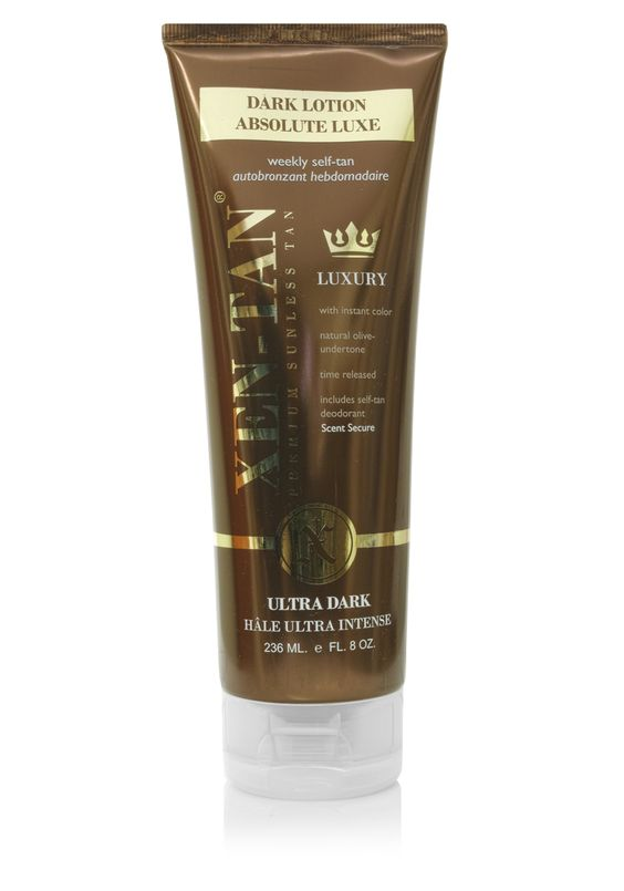 Xen-Tan Dark Lotion Absolute Luxe - A dark self-tanner with instant color