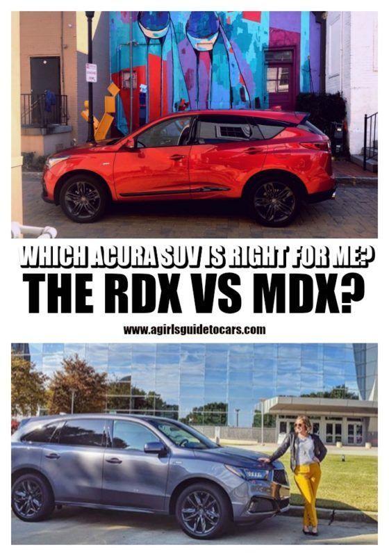 Which Acura Suv Is Right For Me Rdx Vs Mdx Les Vus De Votre Famille Que Nous En 2020