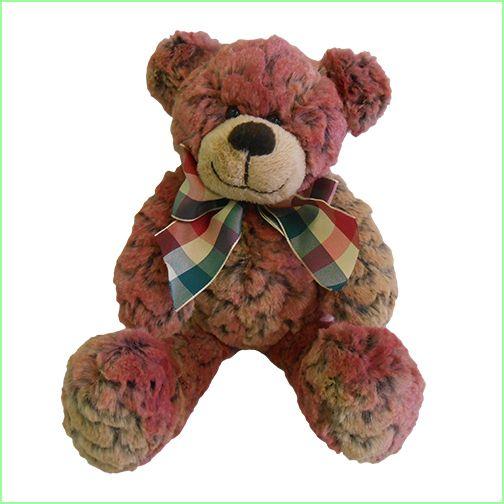 Soft Cute Teddy Bear - Pink From Green Ant Toys Online www.greenanttoys.com.au