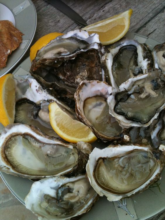 Il de Re oysters! Love them!