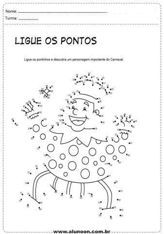 37 Atividades De Carnaval Para Imprimir Educacao Infantil