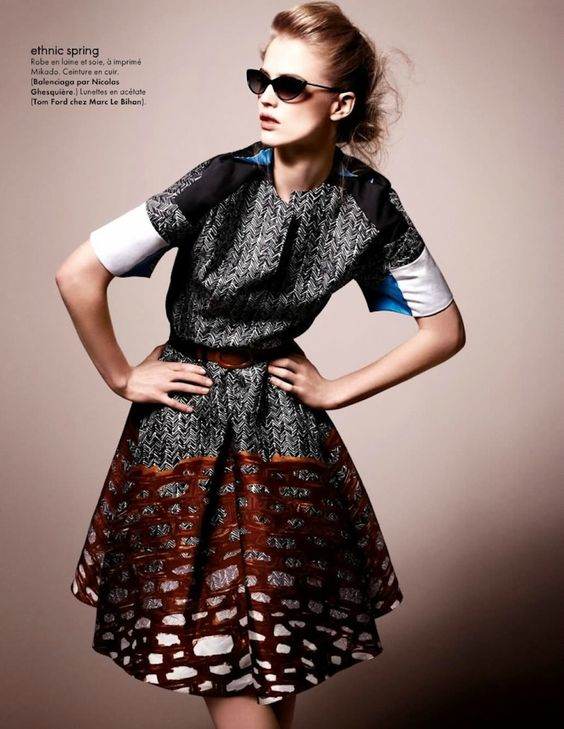 tribal fashion editorials | visual optimism; fashion editorials, shows, campaigns & more!: tribal ...