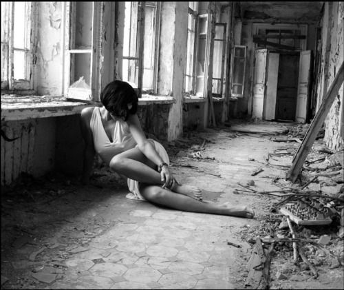 One of those so wrong but so right images. Love beauty, vulnerability amid decay.