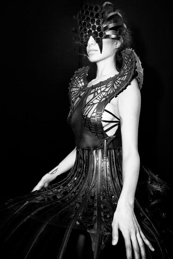Designer atelier malgorzata dudek photo kasia grabek for Xuming haute couture