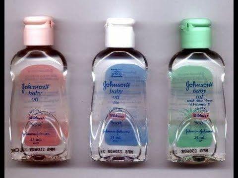 فوائد زيت جونسون Baby Oil Hair Baby Oil Moisturizer