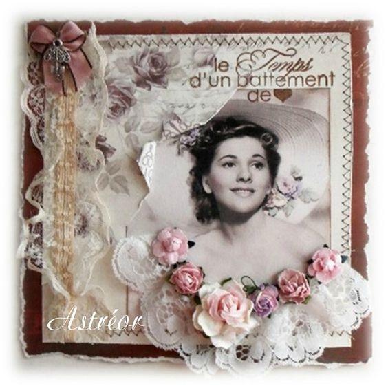 Scrapbooking Astréor - Une si belle lady: