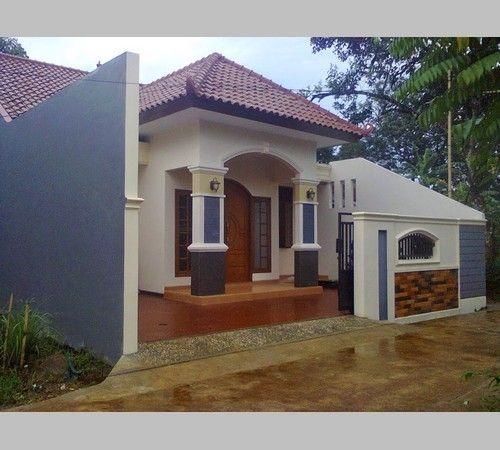 Gambar Teras Rumah Kampung Sederhana  desain teras rumah kampung desain rumah home fashion