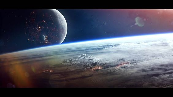 Eye of The Storm by Gabriel Björk Stiernström - #space #scifi #planets #illustration #2d #drawing #photoshop #concept #art #games - Find more at Driva.co!