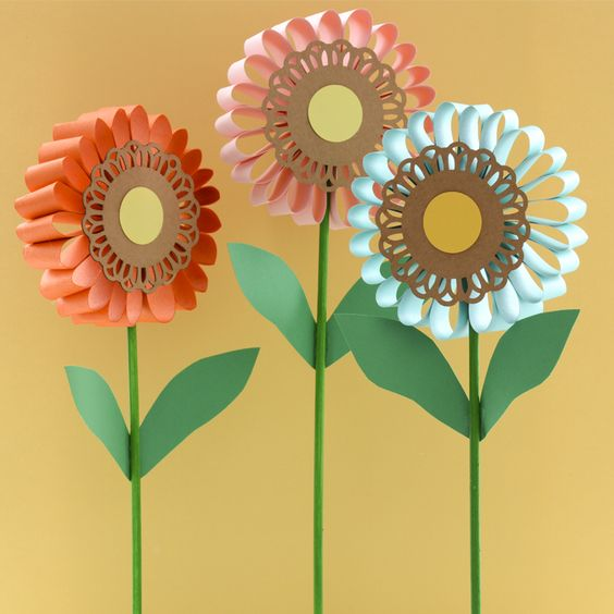 Crafts spring and project projects on pinterest Summer craft ideas for adults