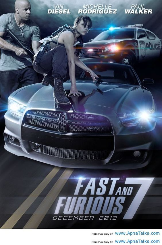 Furious 7 Movie Poster 2015