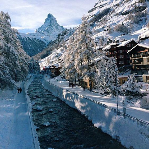 """Toblerone Mountain, Switzerland  Image by @hambam / #VSCOcam C3 elham.vsco.co"""