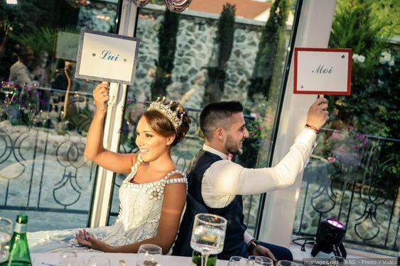 Le jeu du « Elle et Lui » pour votre mariage : que le meilleur gagne !