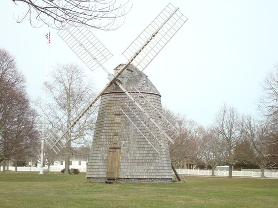 Wind mill in the Hamptons