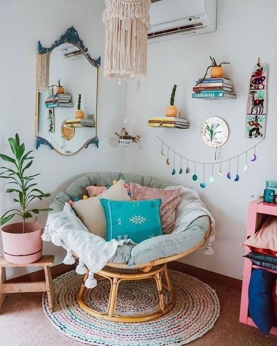 Awesome And Cheap Diy Home Decoration Ideas Reading Room Decor Boho Bedroom Decor Small Room Bedroom