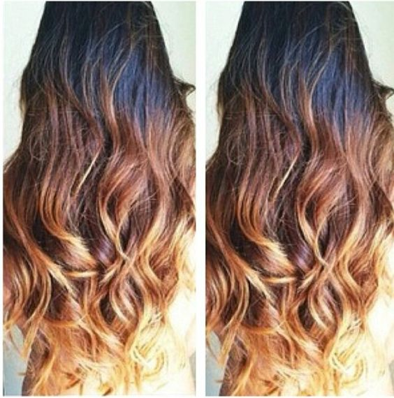 i wanna do this to my hair but the top a light color then