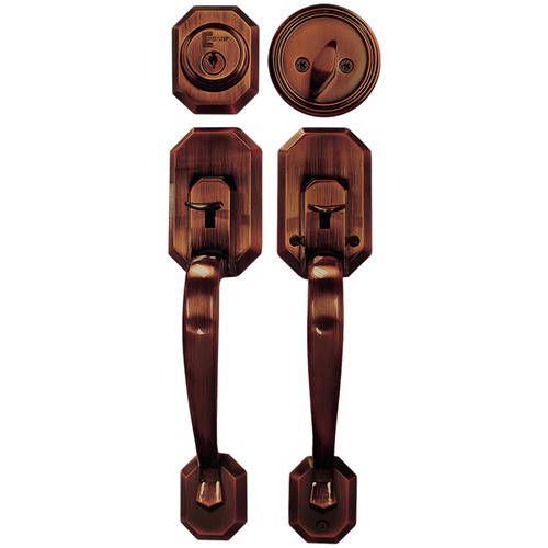 Free 2 Day Shipping Buy Constructor Cerberus Entry Door Lock Lever Handle Set With Deadbolt Single Cylinder In 2020 Entry Door Locks Front Door Hardware Door Handles