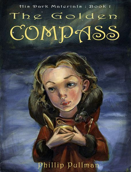 Golden Compass cover art.  Acrylic on Board