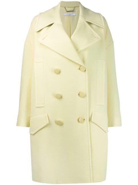 Купить Givenchy пальто свободного кроя