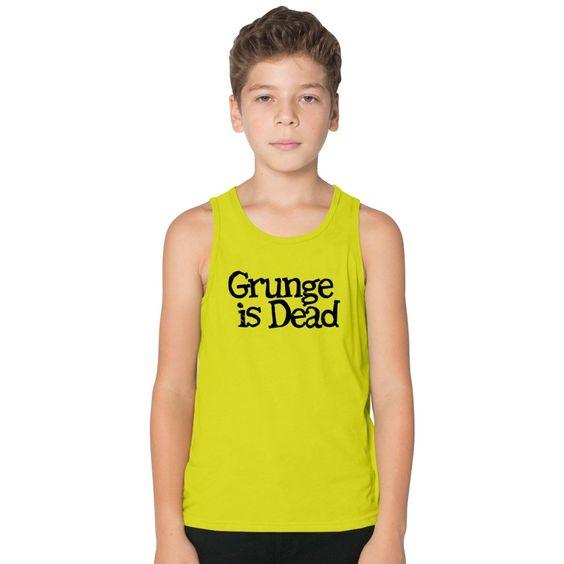 Grunge Is Dead Kids Tank Top