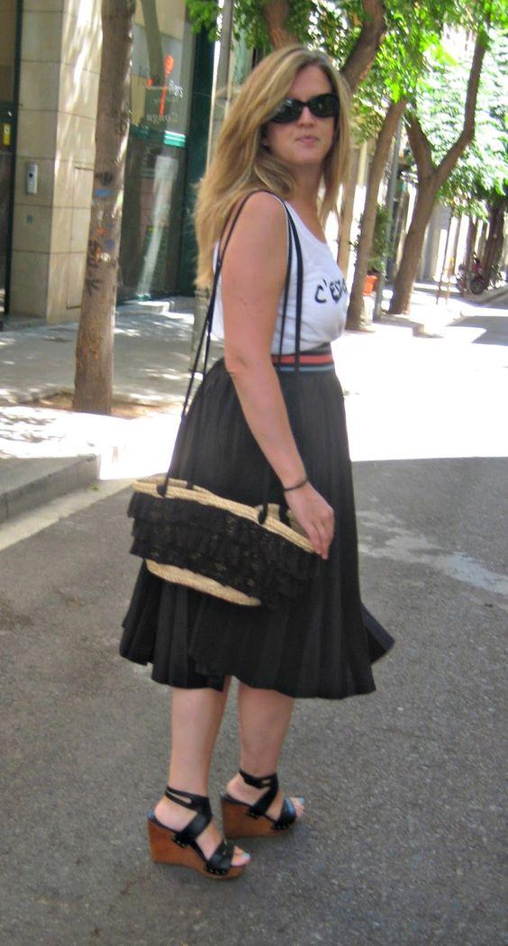 A trendy black