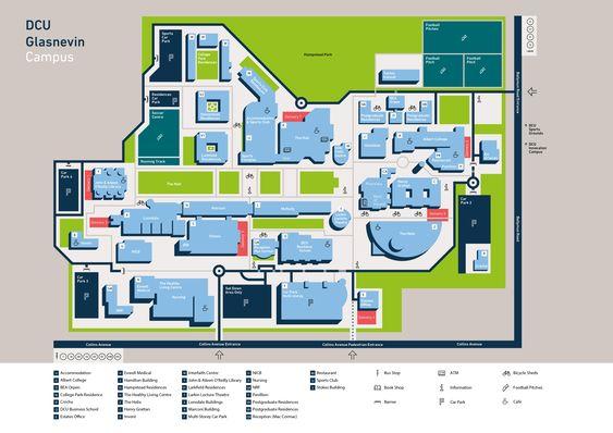 Gcu Campus Map