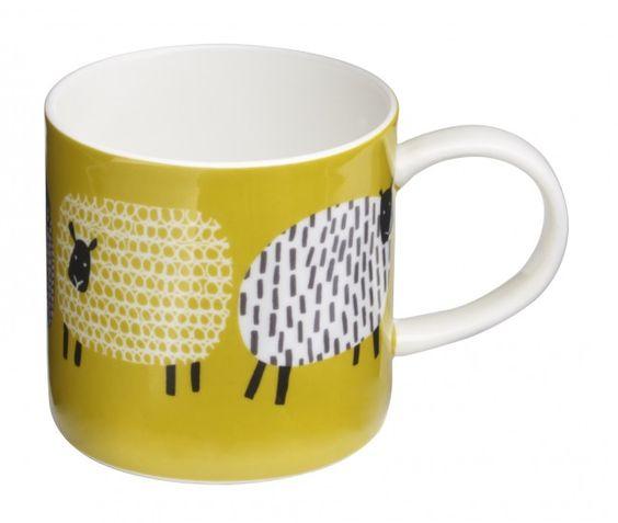 Dotty Sheep Mug Fine Bone China by Ulster Weavers