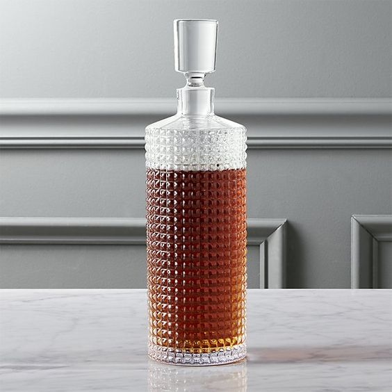 Studded Decanter - CB2