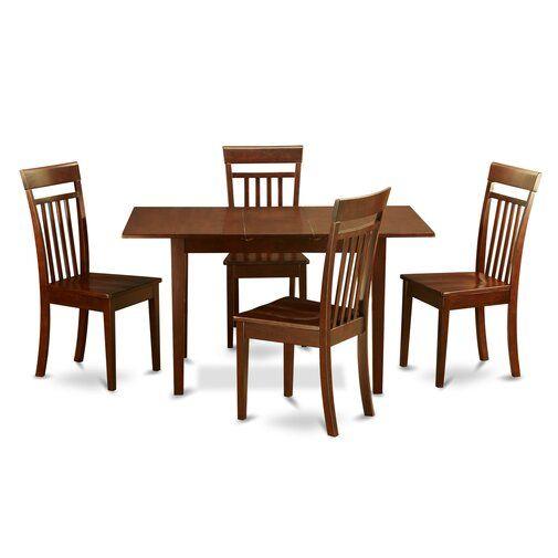 27++ East west furniture 5 piece dining set Inspiration
