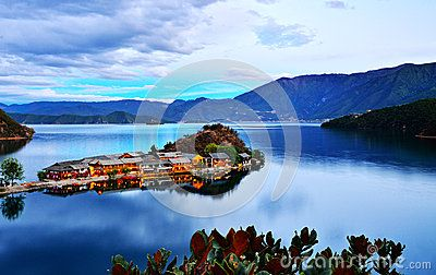Lugu Lake - Download From Over 26 Million High Quality Stock Photos, Images, Vectors. Sign up for FREE today. Image: 33216372