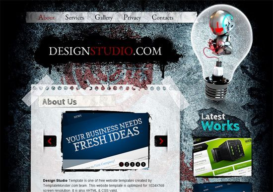 35 Best Free HTML5 and CSS3 Templates