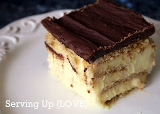 Eclair Cake - SO easy and yummy!