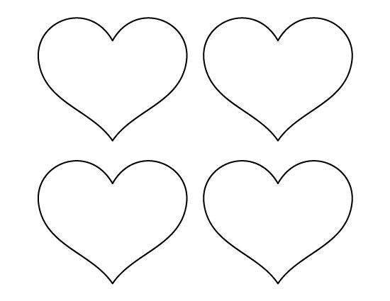 Heart Template, Templates And Heart Patterns On Pinterest
