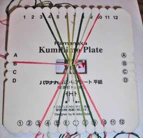 Weir Crafts - Everything for Kumihimo: free braiding plate instructions p. 6