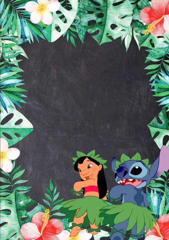 Lilo And Stitch Invitation For Birthday Party In Glossy Or Matte Paper Printed Or In Printable D Lilo And Stitch Birthday Lilo And Stitch Party Lilo And Stitch