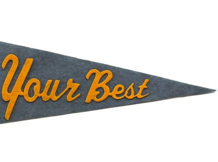 Do Your Best Pennant  $36.  great christmas gift for your cub scout!