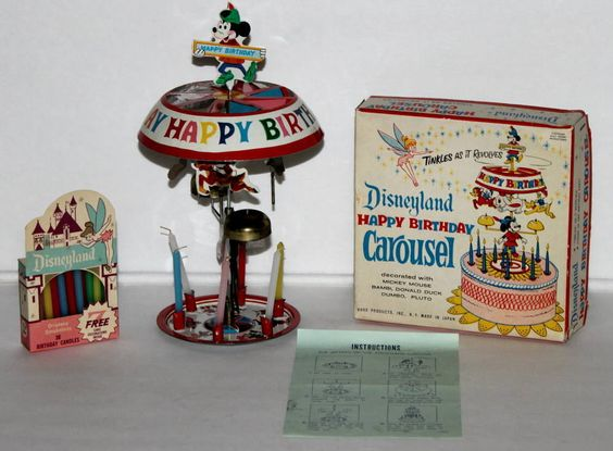 Vintage Childrens Cake Toppers Value