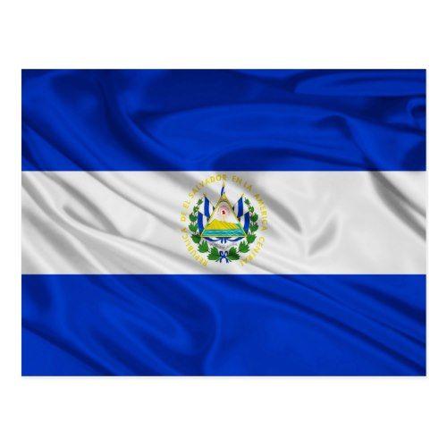 Flag Of El Salvador Postcard Zazzle Com Flag Postcard Personalized Custom